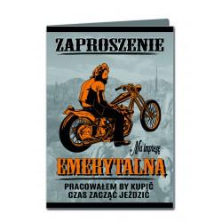 Zaproszenie Motocyklowe...